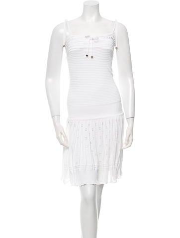 Gucci Sleeveless Knit Dress None
