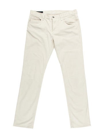 Gucci Tapered Corduroy Pants None