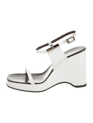 Gucci Platform Wedge Sandals None