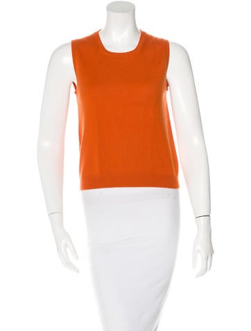 Gucci Cashmere Sleeveless Sweater None
