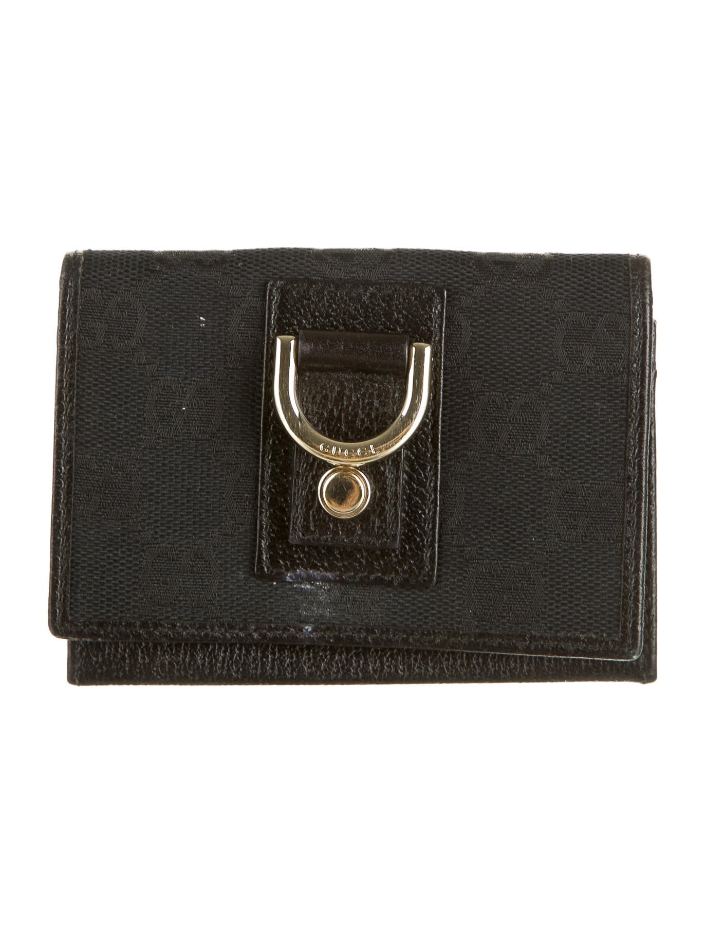 adb00e3a20ee08 Gucci Gg Black Canvas Wallet Womens | Stanford Center for ...