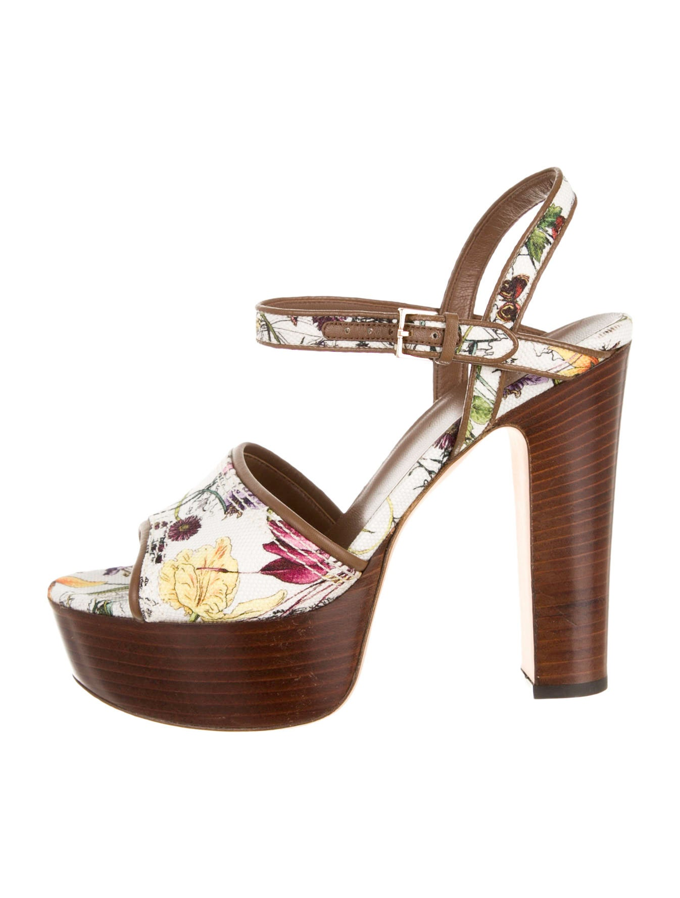 gucci platform sandals shoes guc52913 the realreal