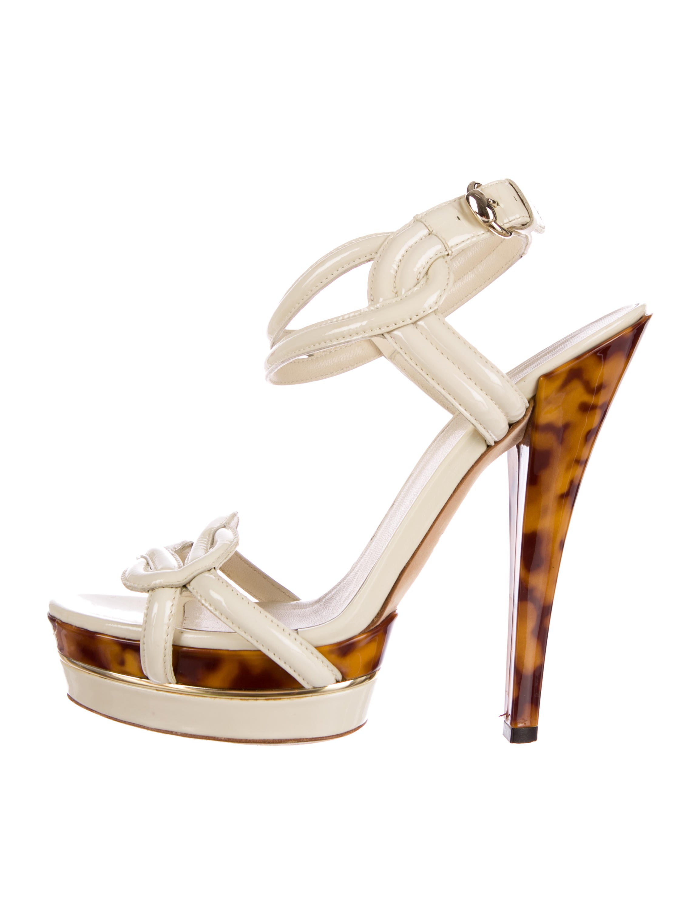 gucci platform sandals shoes guc55322 the realreal