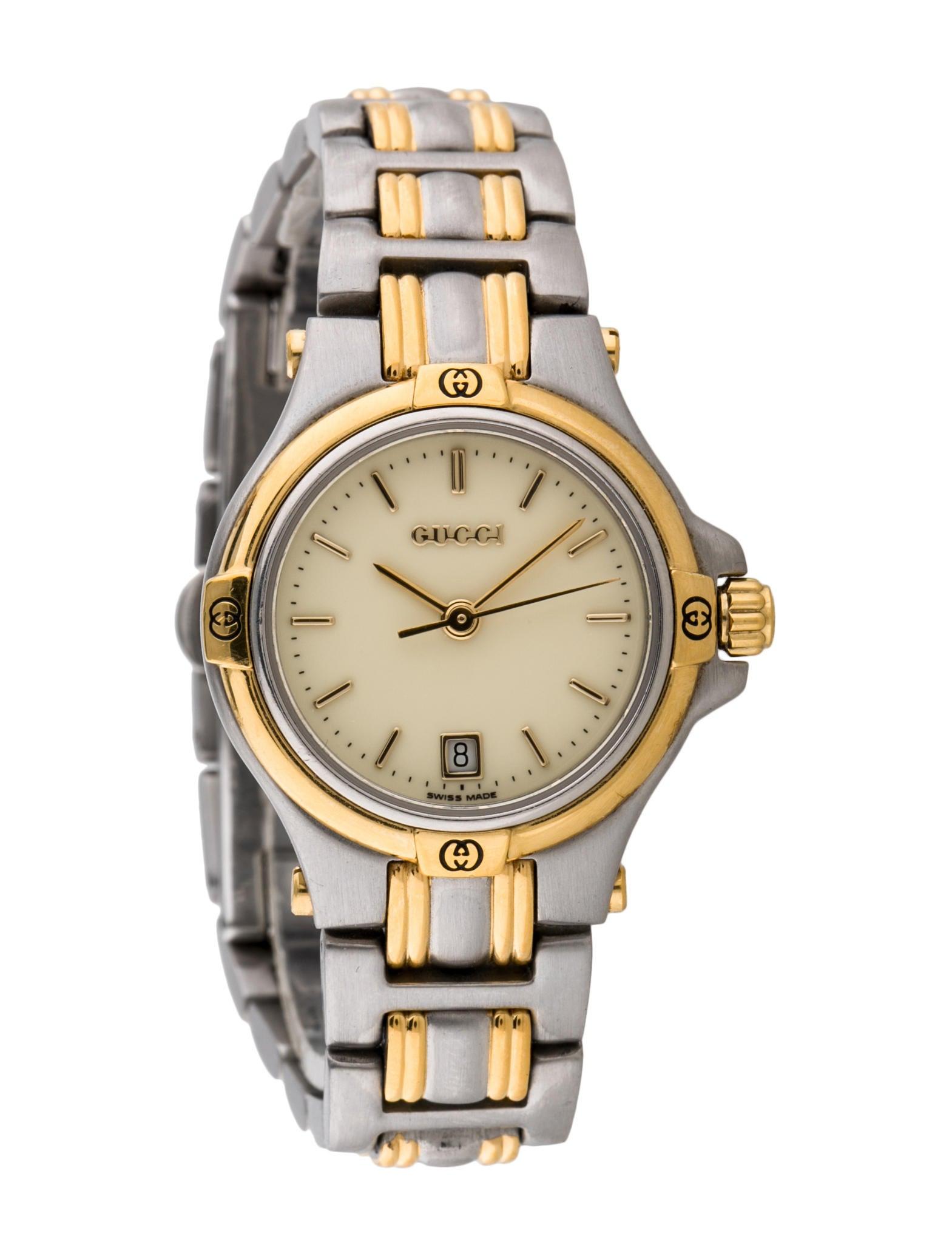 Gucci 9040L Quartz Watch - Bracelet - GUC60389 | The RealReal