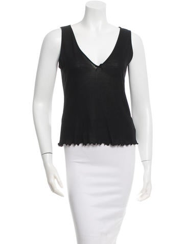 Gucci Sleeveless V-Neck Top None