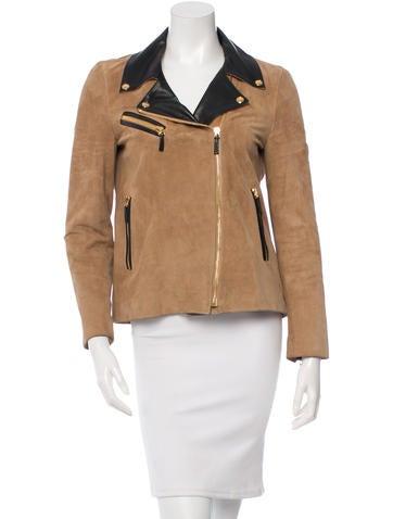Gucci Suede Moto Jacket