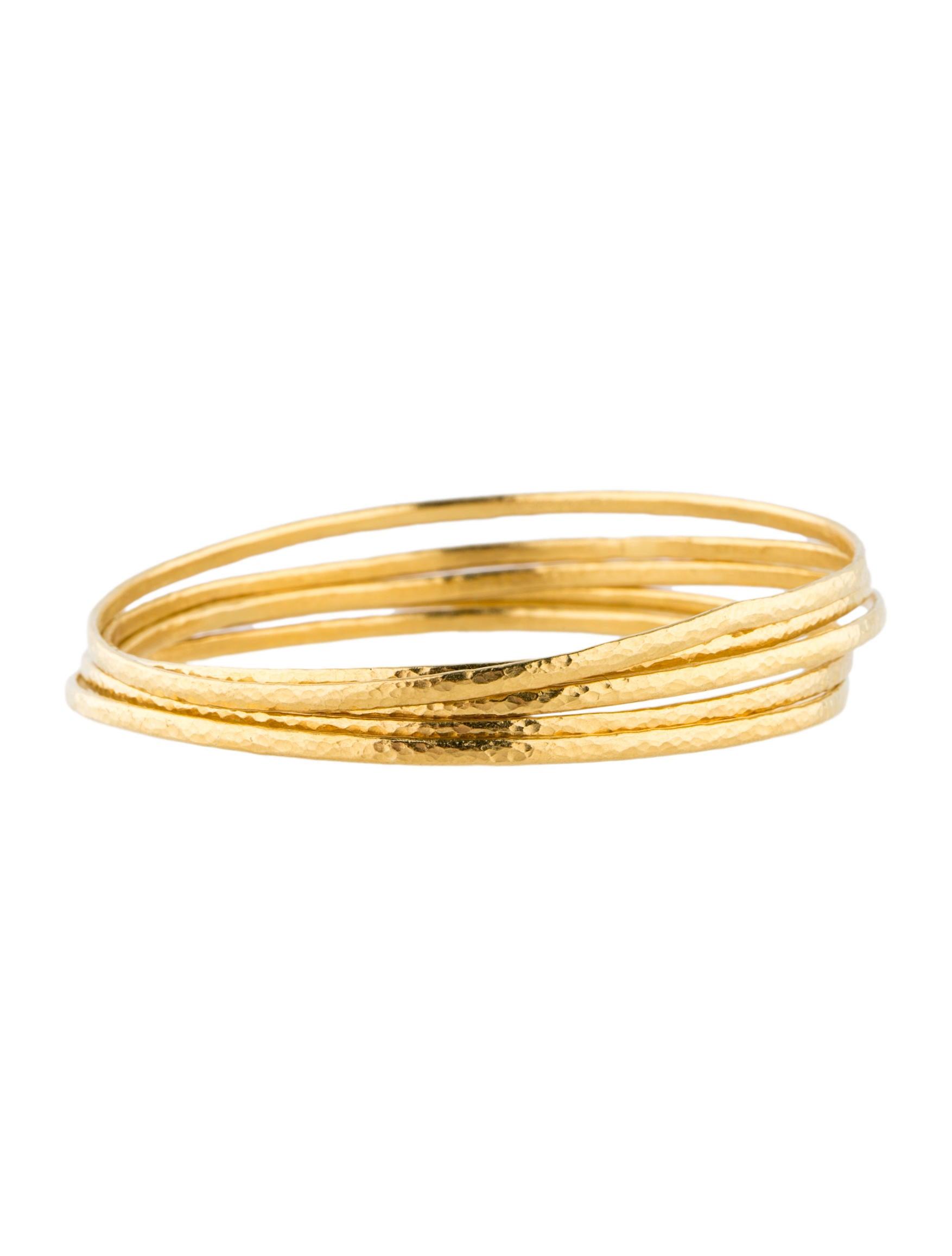 Gurhan 22K Yellow Gold Bangle Set - Jewelry - GUR20171 ...
