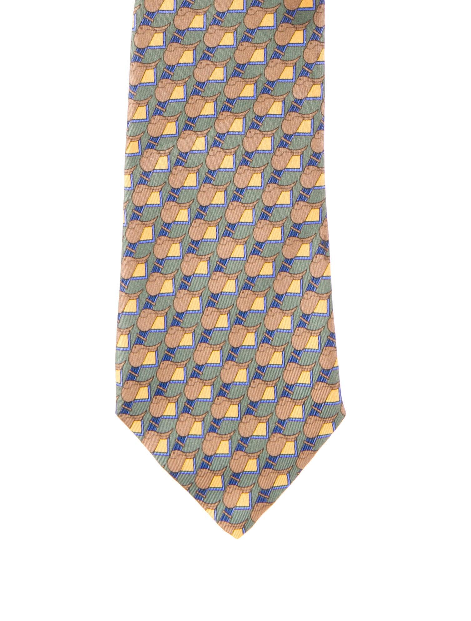 herm 232 s tie suiting accessories her37371 the realreal