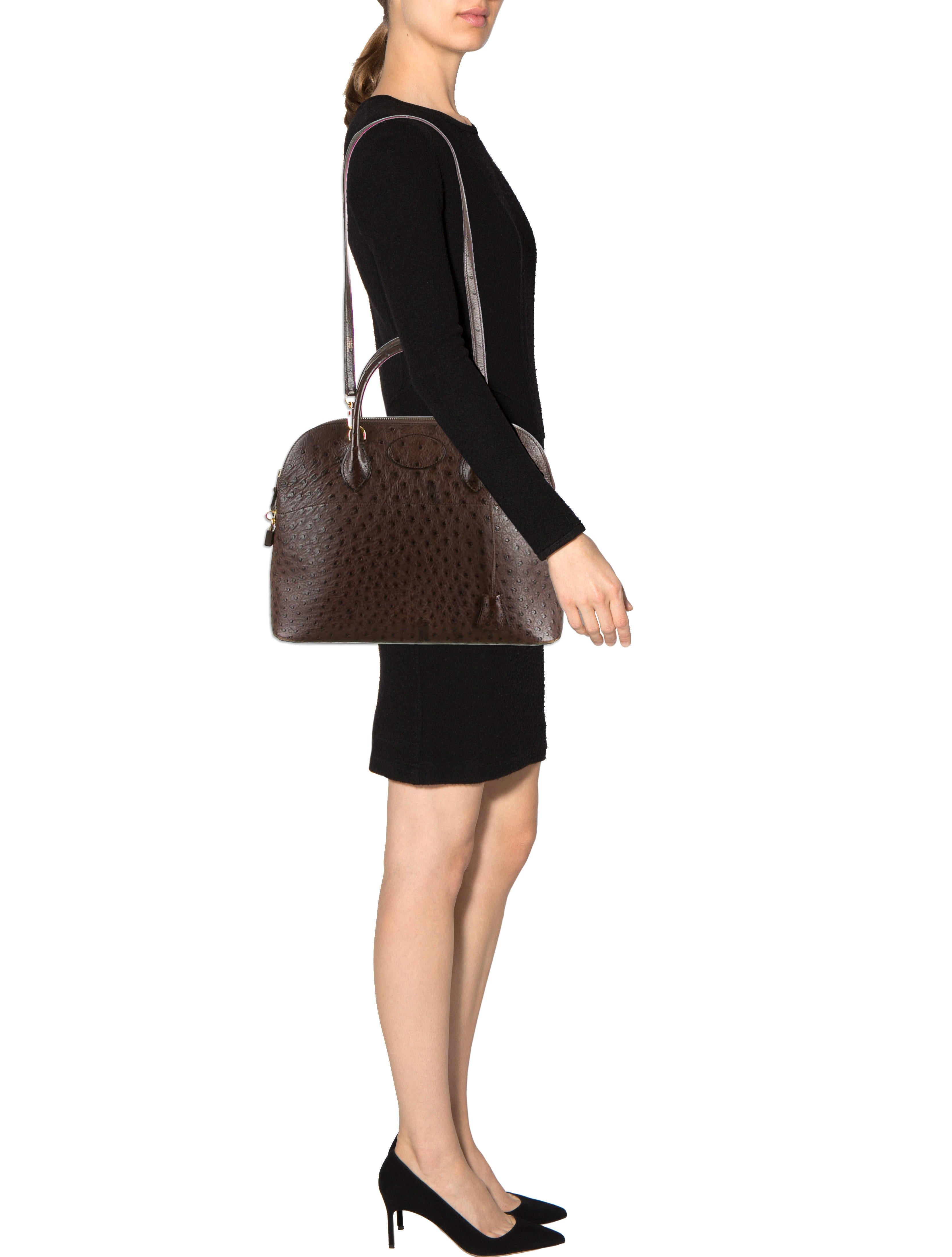 Herm��s Ostrich Bolide 35 - Handbags - HER40978 | The RealReal