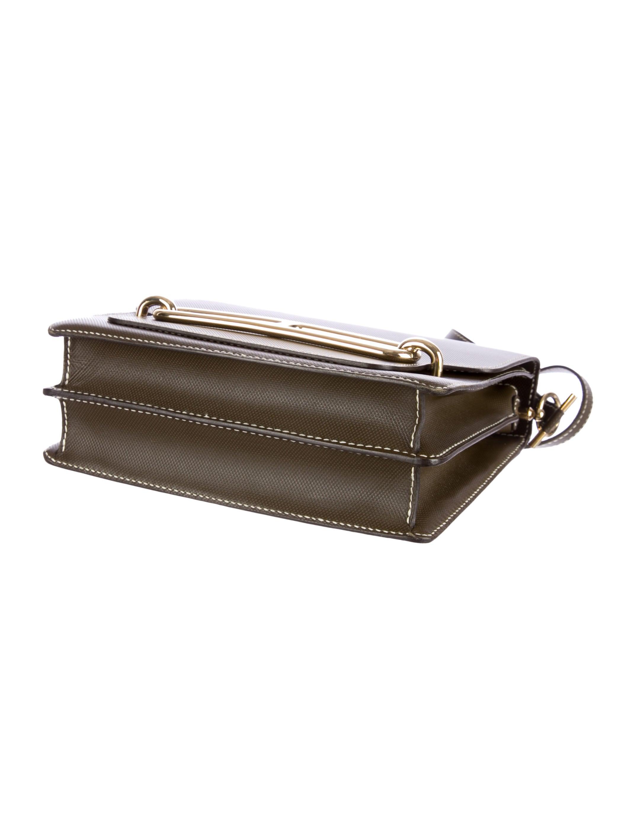Herm��s Sac Roulis - Handbags - HER43168   The RealReal