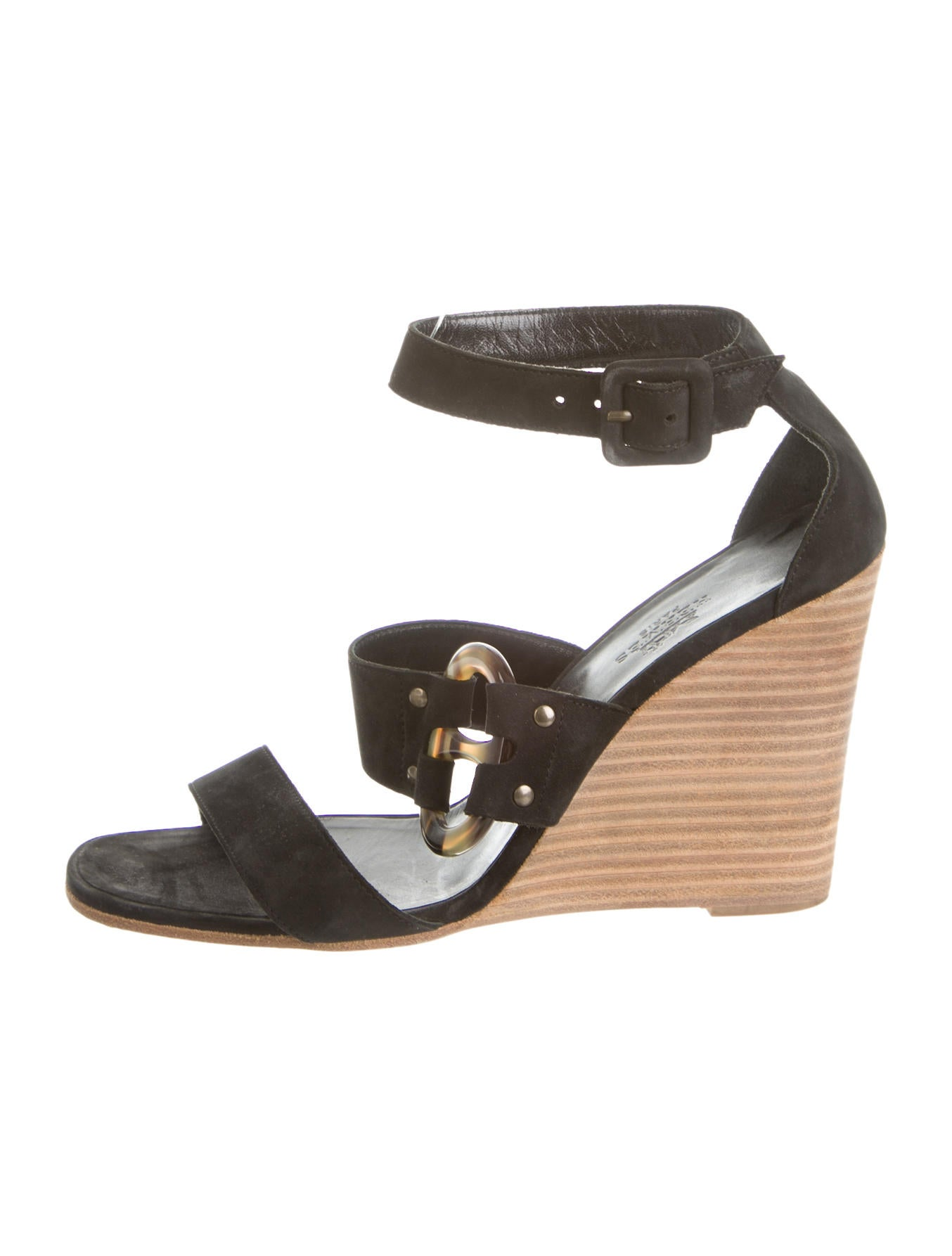 Brilliant Herms Lizard Slingback Sandals  Shoes  HER50937  The RealReal