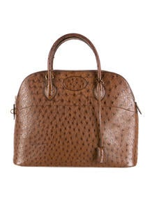 where are brighton purses made - Herm��s Ostrich Mini Bolide Bag - Handbags - HER53000 | The RealReal