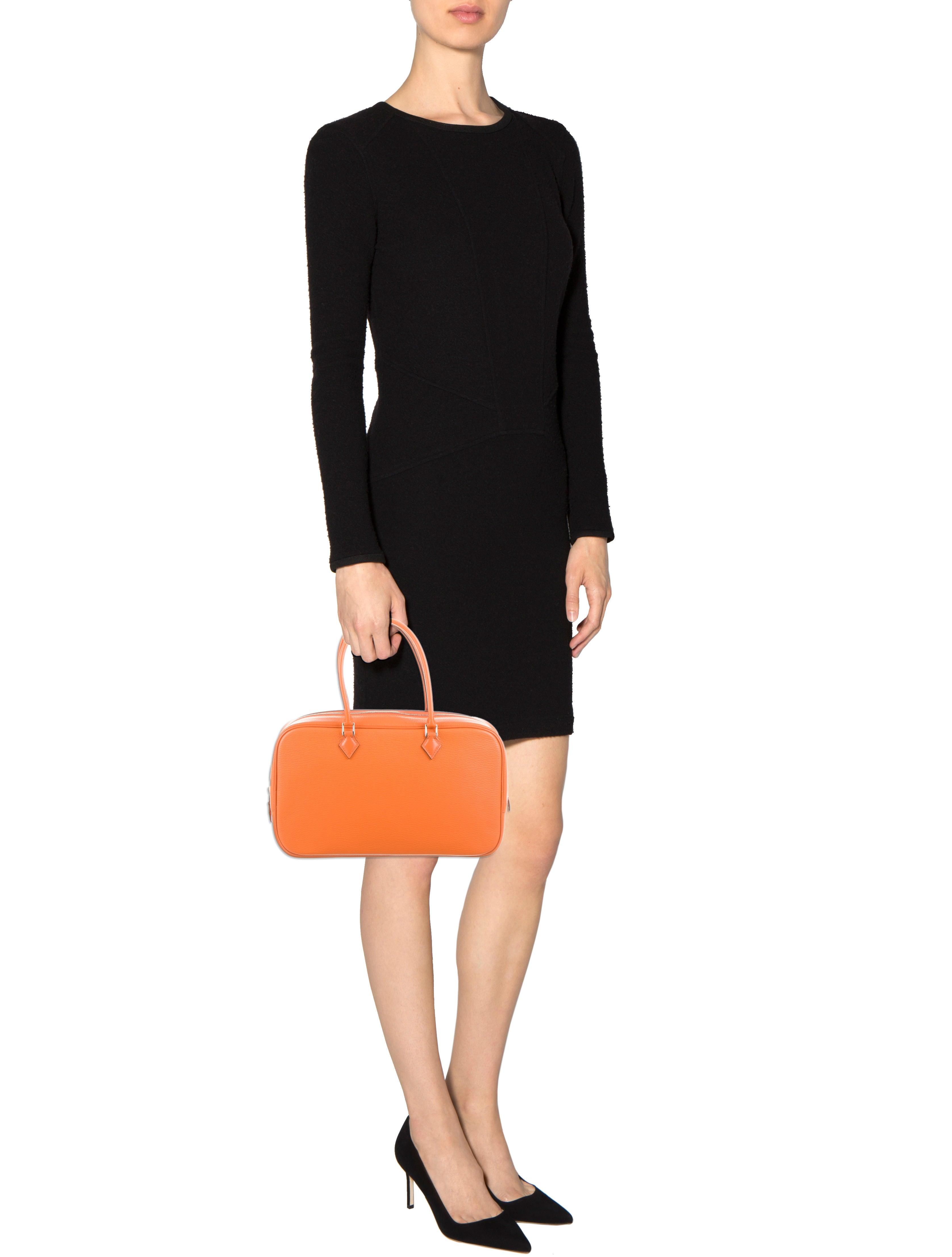 Herm��s Chevre Mysore Plume Elan 28 - Handbags - HER53234 | The ...