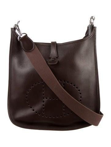 hermes herline pochette cheap chinese purses - Authentic HERMES Herline  Pochette Gray Shoulder Crossbody Bag . ... 702e37fec545f