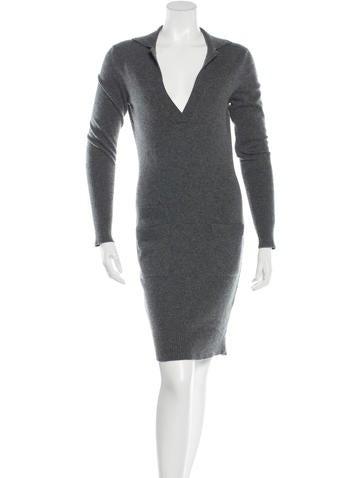 Hermès Cashmere Sweater Dress None
