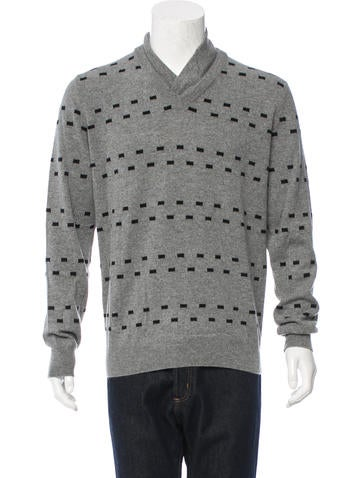 Hermès Patterned Cashmere Sweater None