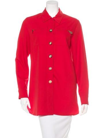 Hermès Wool Long Sleeve Top None