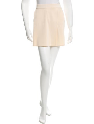 Herve Leger High-Waist Knit Skort None