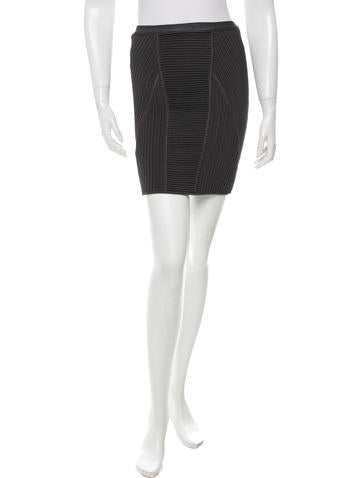 Herve Leger Elasticized Pencil Skirt w/ Tags None