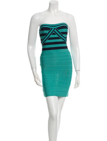 Herve Leger Bandage Olimpia Dress None