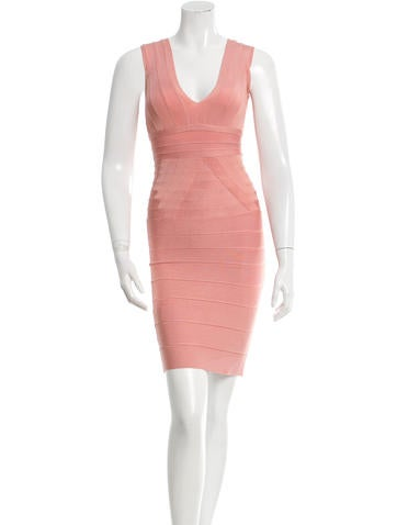 Herve Leger Martina Dress None