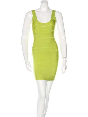 Herve Leger Bandage Mini Dress None