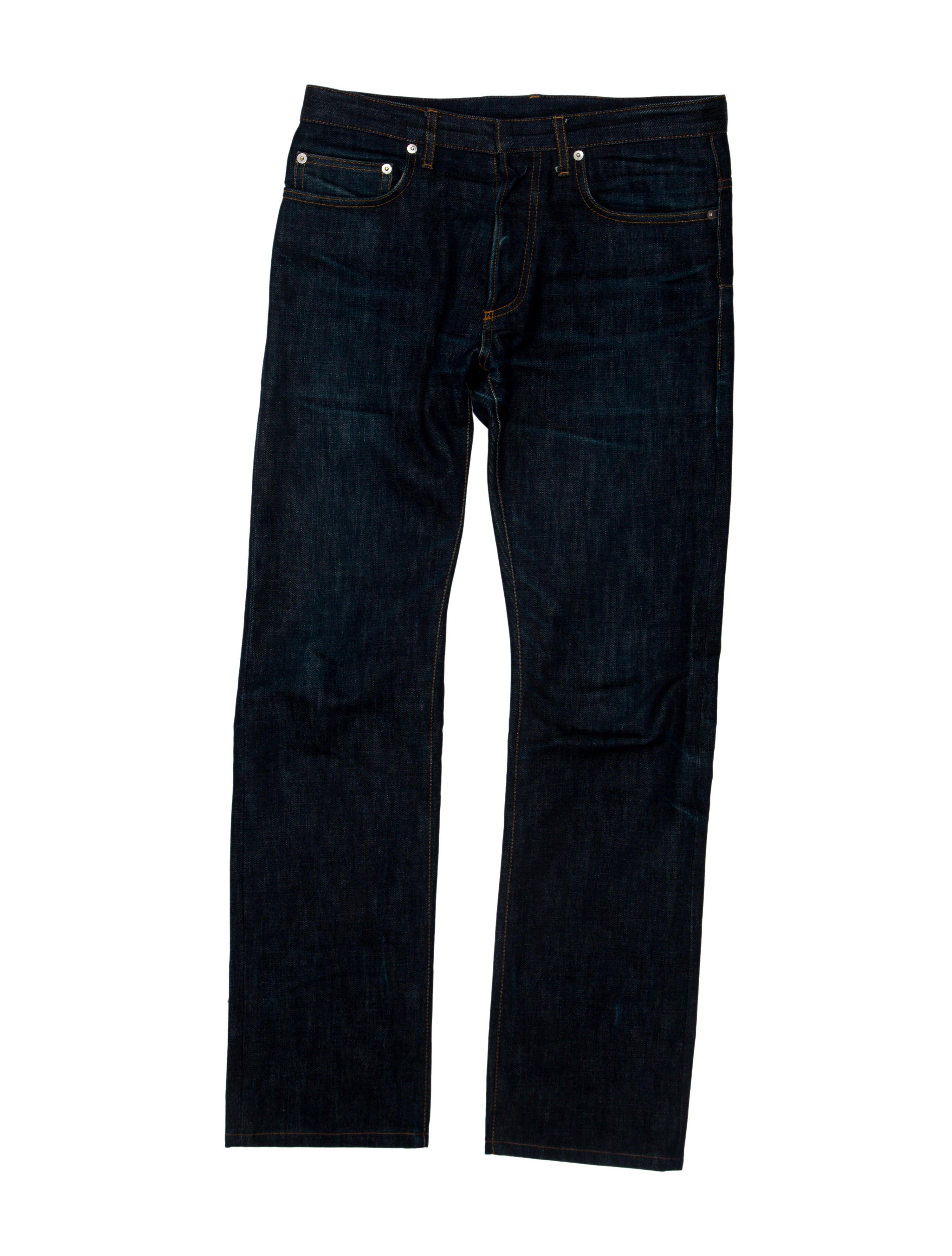 dior homme jeans clothing hmm21040 the realreal. Black Bedroom Furniture Sets. Home Design Ideas
