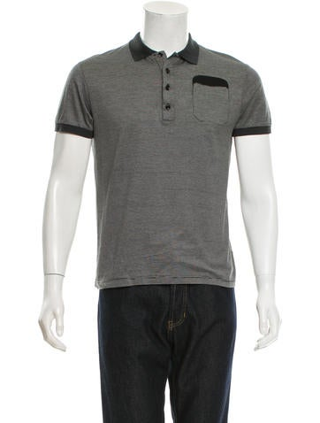 Dior Homme Striped Polo Shirt