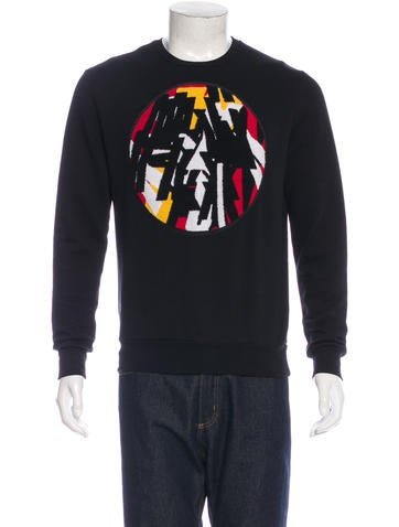 Dior Homme Terry Cloth Patch Sweatshirt None