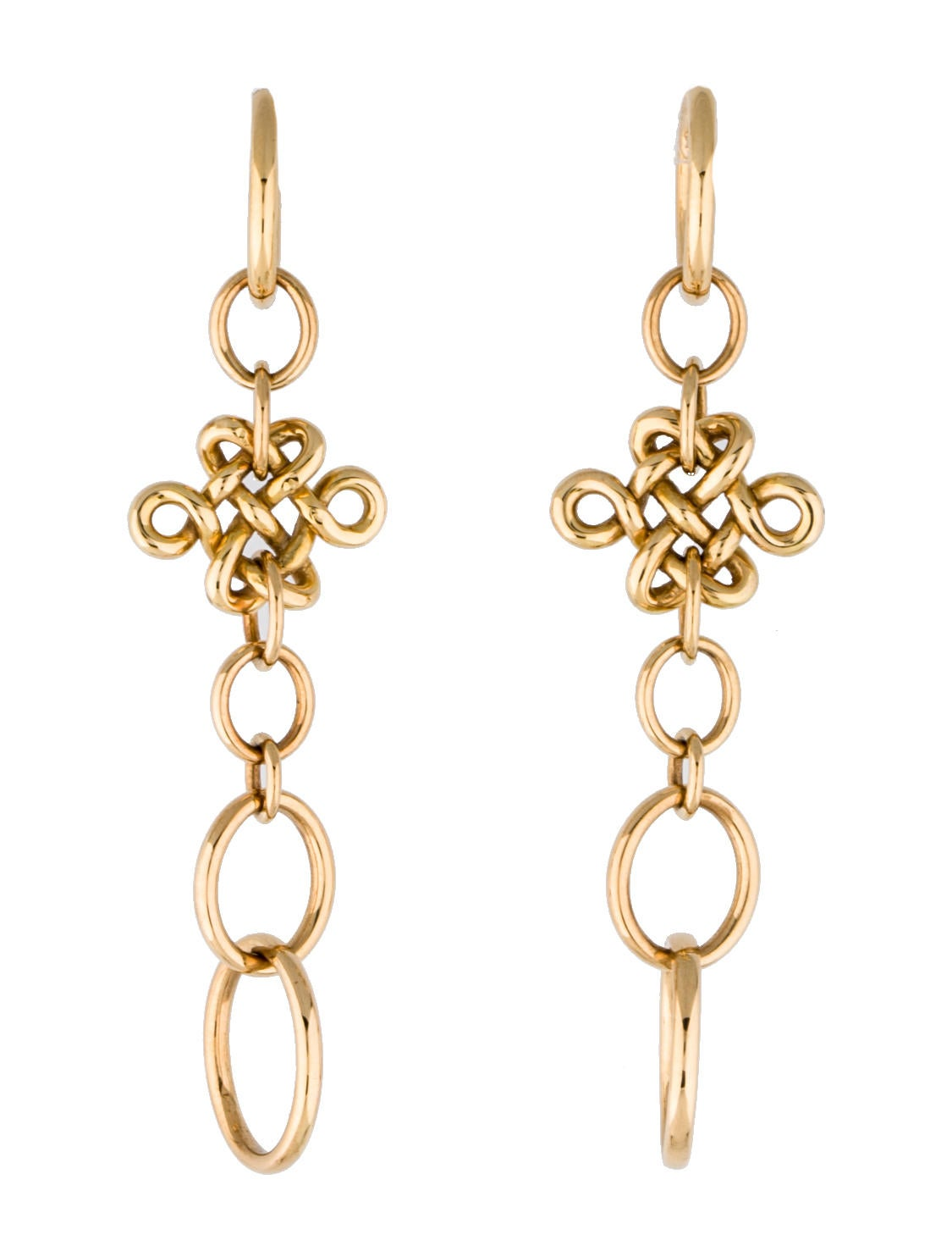 hstern earrings h dvf knot earrings earrings hst20132 the 1498