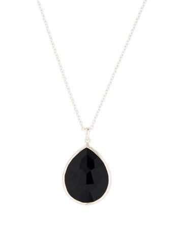 Ippolita Onyx Teardrop Necklace