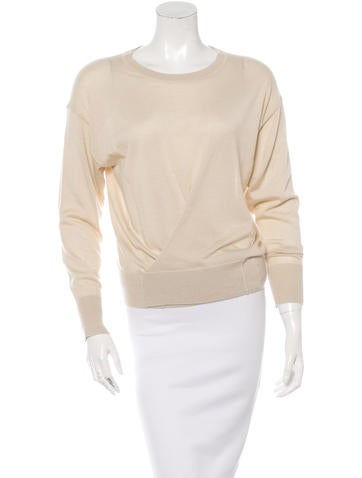 Isabel Marant Cashmere Silk-Blend Pullover Knit None