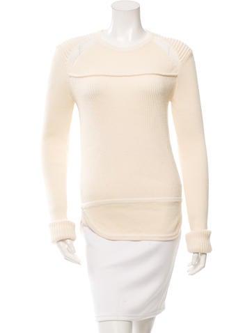Isabel Marant Wool Rib Knit Sweater None