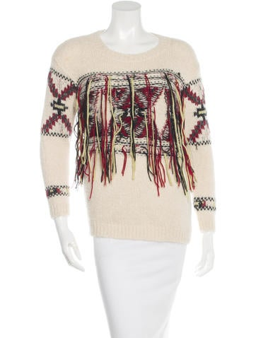 Isabel Marant Alpaca & Wool-Blend Sweater None