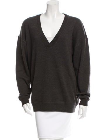 Jason Wu Wool V-Neck Sweater None