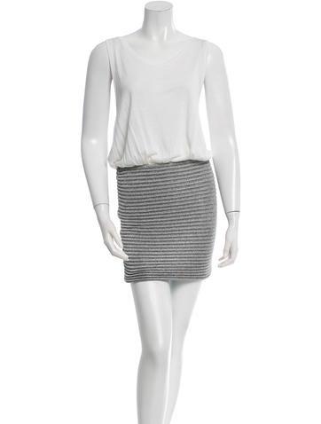 Jay Ahr Metallic Knit Dress None