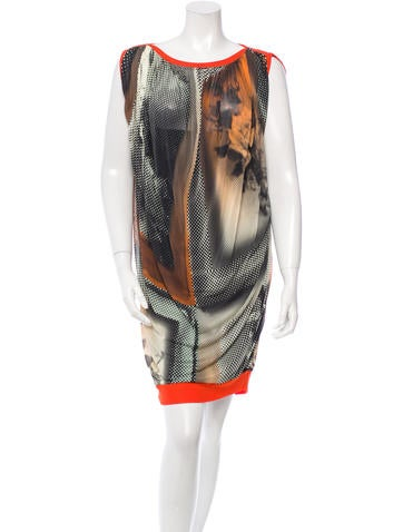 Jean Paul Gaultier Sleeveless Printed Dress None