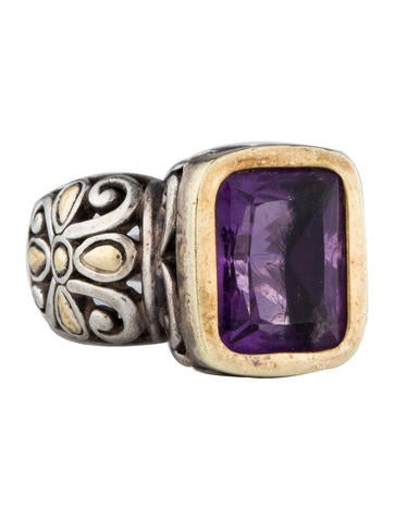 John Hardy Amethyst Ring