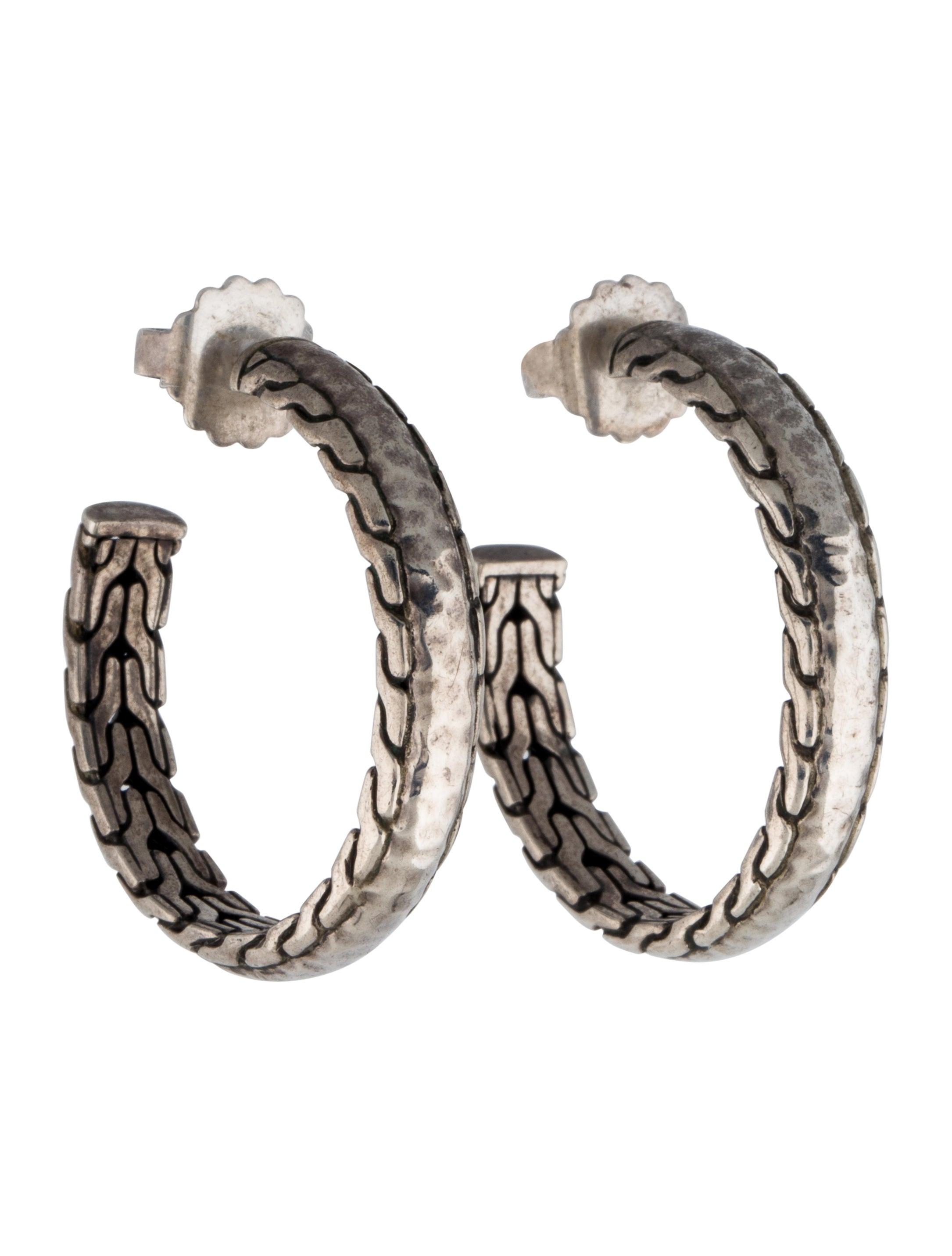 John hardy palu hoop earrings earrings jha22519 the for John hardy jewelry earrings