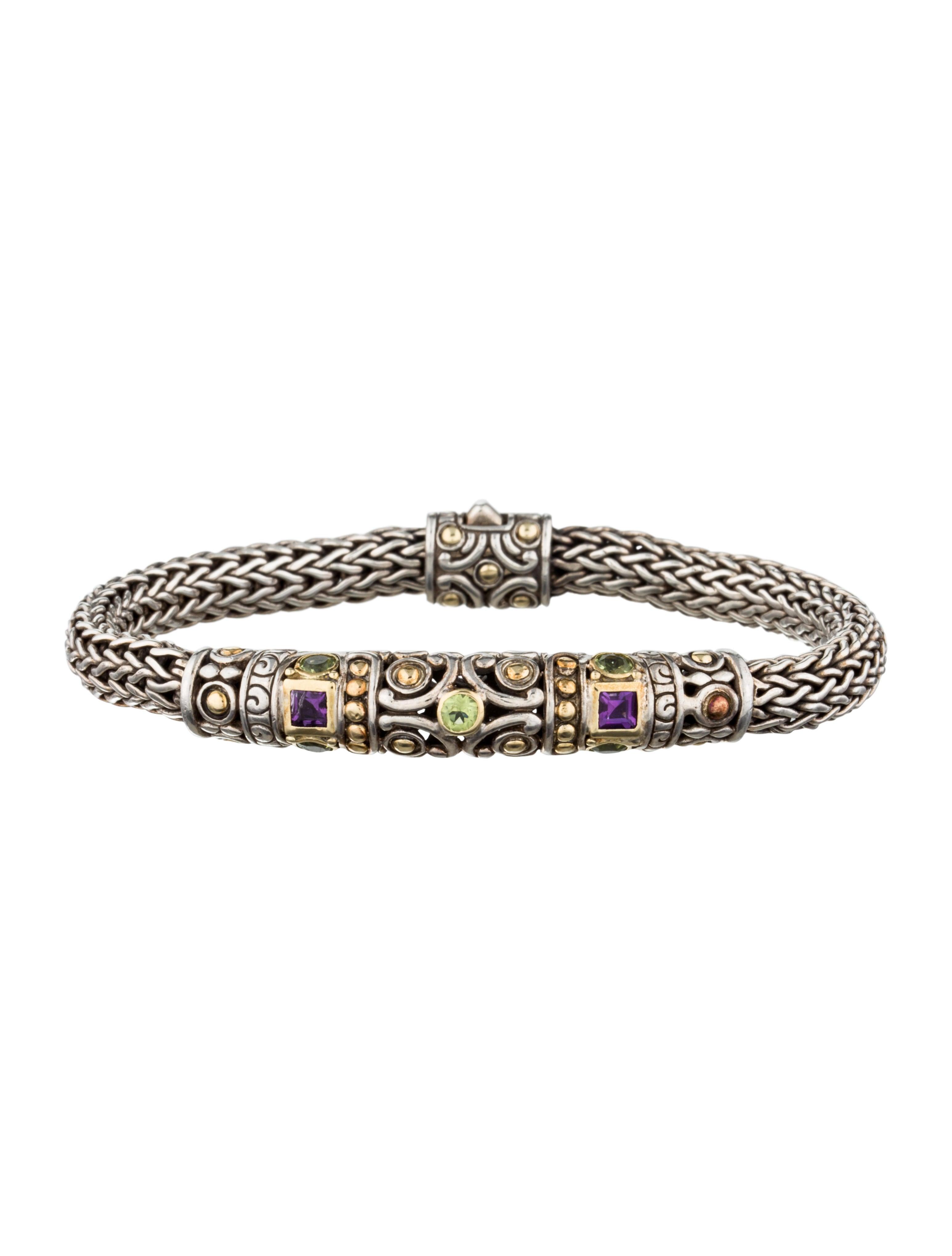 John Hardy Batu Chain Bracelet Jewelry Jha22573 The