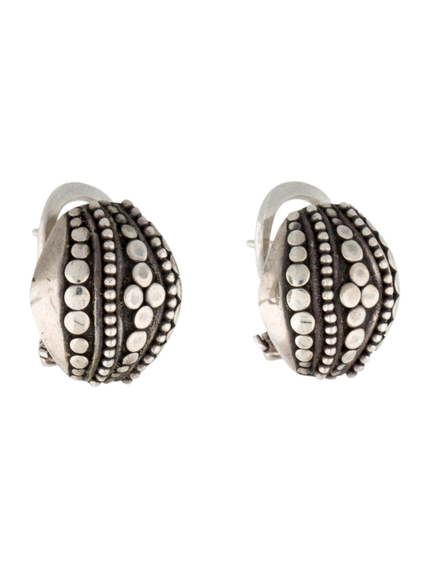 John hardy dot earrings jewelry jha23215 the realreal for John hardy jewelry earrings
