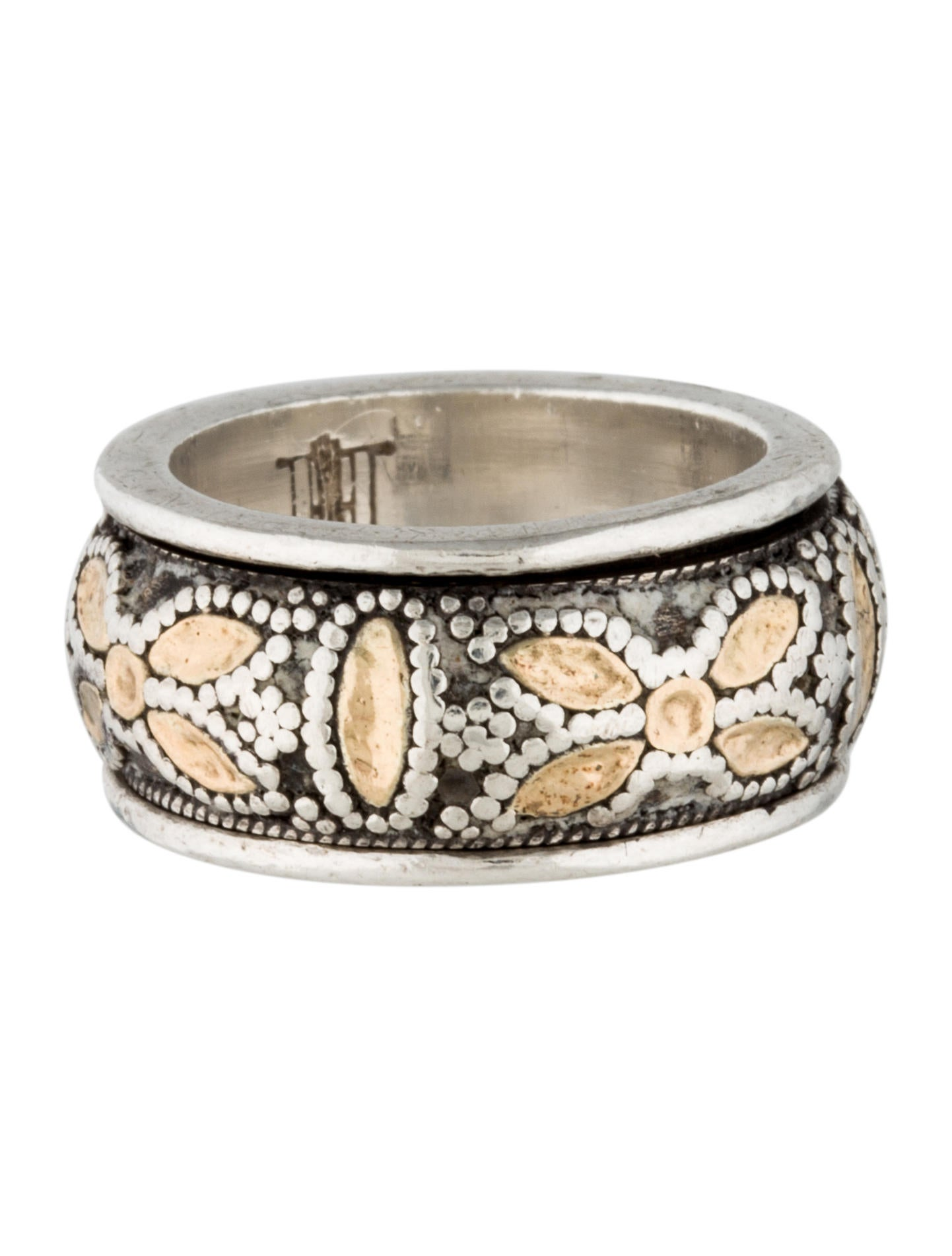 john hardy two tone spinning ring rings jha23241 the