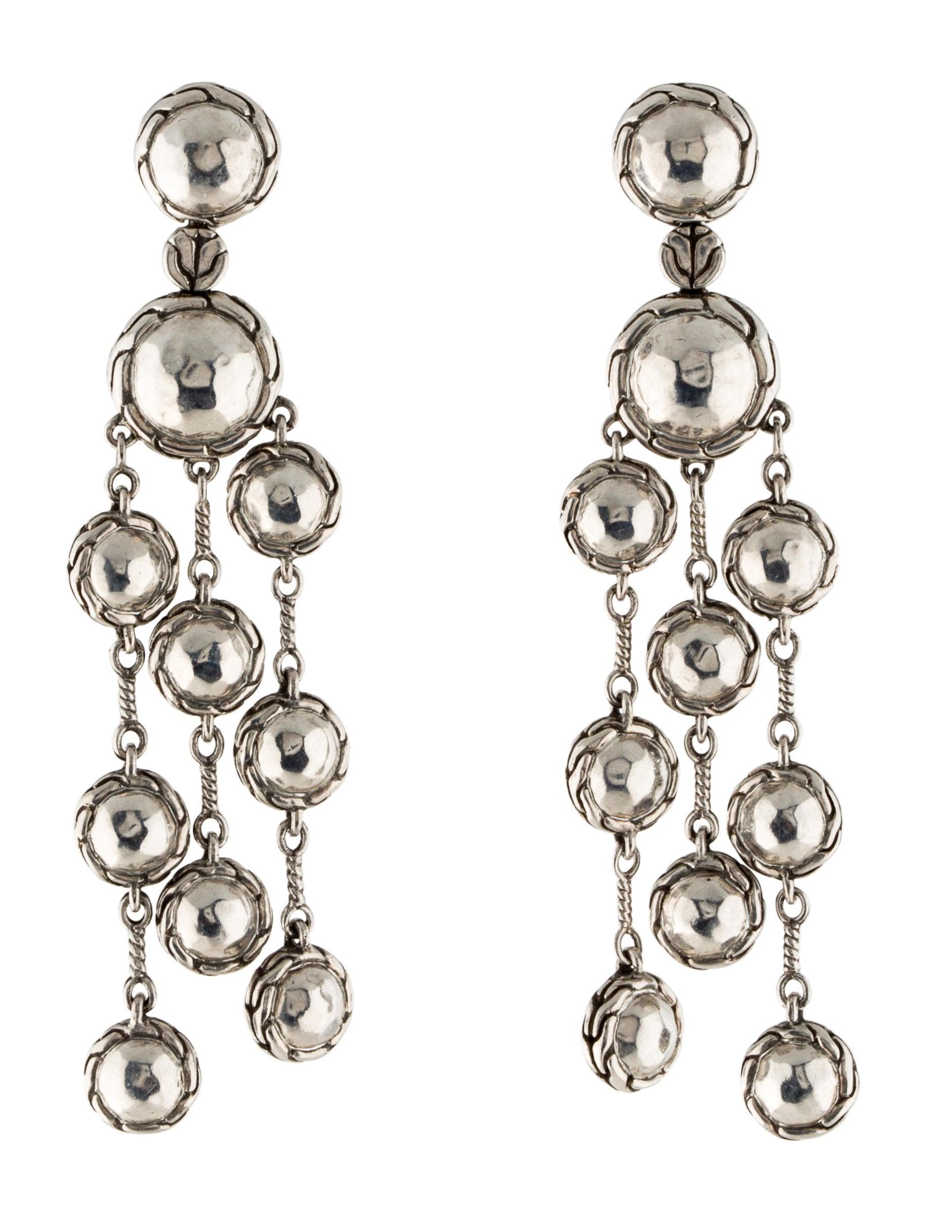 John hardy palu chandelier earrings earrings jha23322 for John hardy jewelry earrings