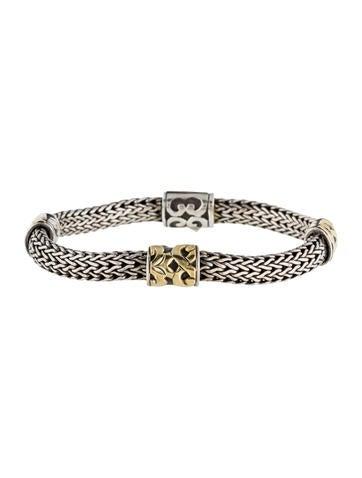 John Hardy Two Tone Classic Chain Bracelet Bracelets