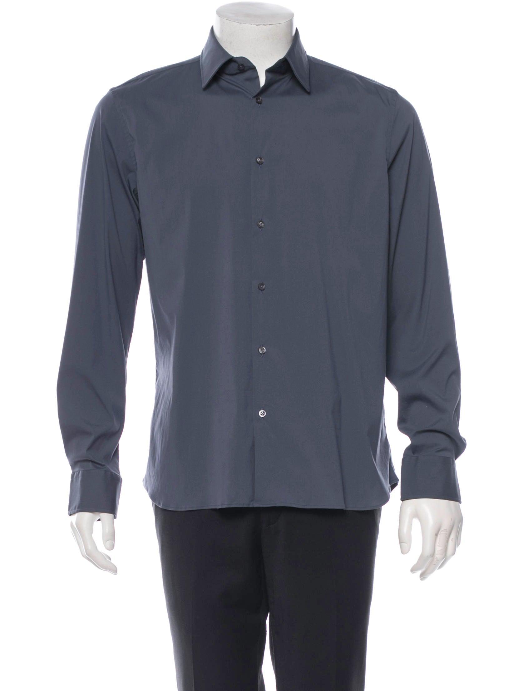 Jil sander stretch button up shirt mens shirts for Jil sander mens shirt