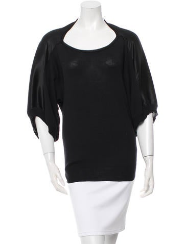Jil Sander Knit Three-Quarter Sleeve Top None