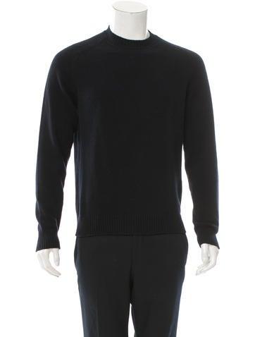 Jil Sander Wool Rib Knit-Trimmed Sweater None