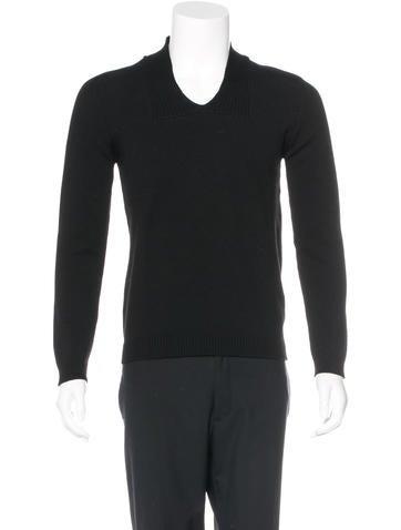 Jil Sander Wool Rib Knit Sweater None