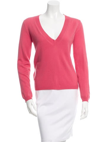 Jil Sander Cashmere V-Neck Sweater None