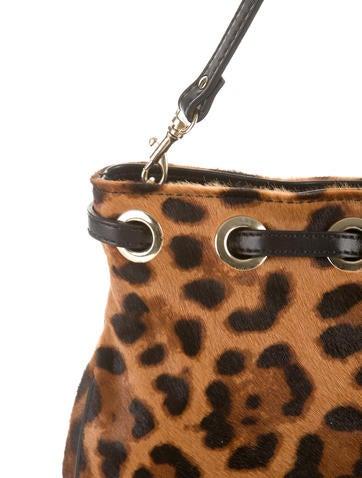 Jimmy Choo Leopard Print Shoulder Bag